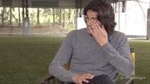 Les larmes d'Edinson Cavani lors d'une interview
