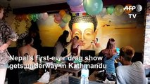 Nepal holds first-ever drag show