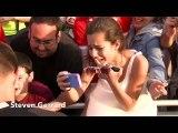 Celebrities Meeting Fans -- Johnny Depp , P-nk   more