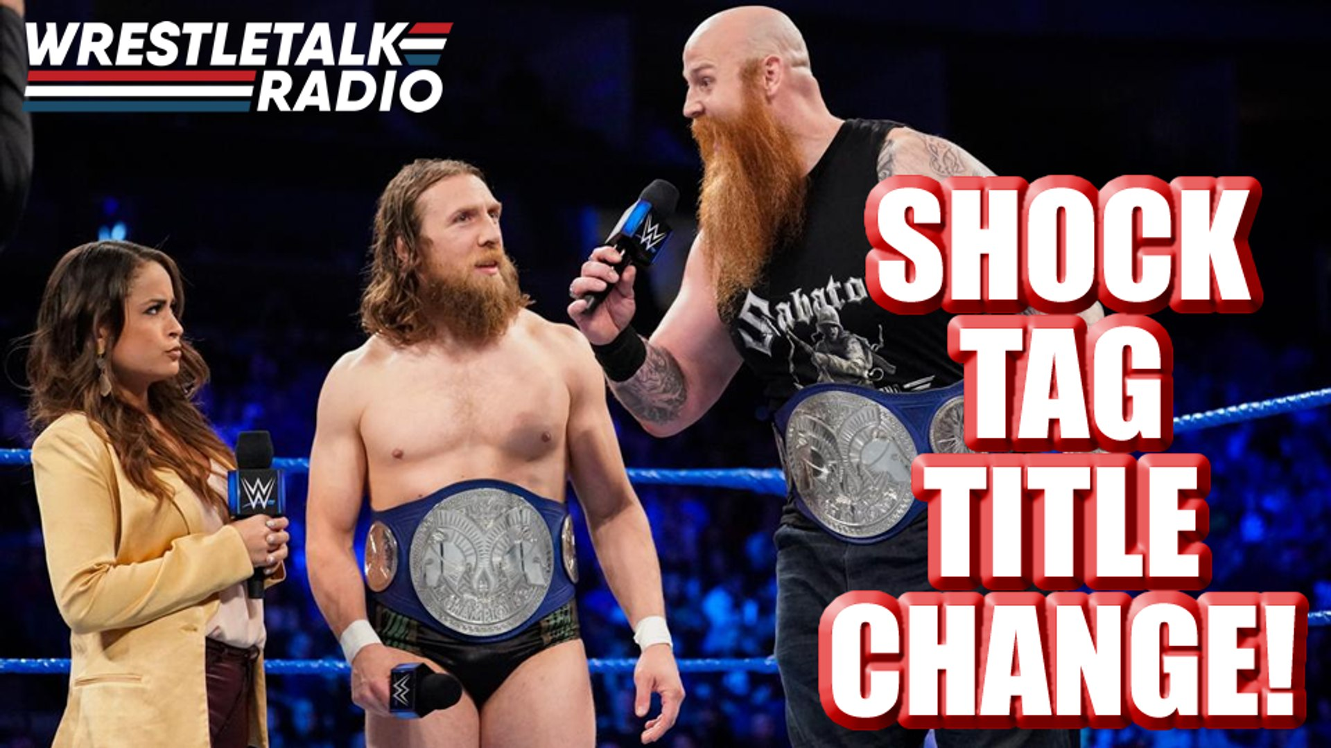 MASSIVE WWE Tag Title CHANGE!! Major Star Makes In-Ring Return!! SmackDown Star Debuts for Other Bra
