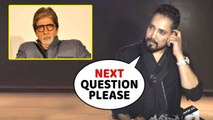 Mika Singh IGNORE Question On Working With Amitabh Bachchan