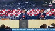 """Luka Jovic: """"Soy el chico más feliz del mundo, es un orgullo estar en el Real Madrid"""""""