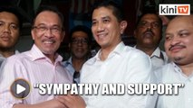 Anwar: I expressed my concern and sympathy to Azmin