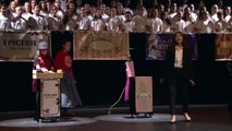 """Enseignement de chant choral :  """"Galeries"""", Comédie musicale créée par la troupe du collège Glanum de Saint-Rémy de Provence dans l'Académie d'Aix-Marseille (Mai 2018). Livret de Laurent Doucet et Mathieu Rachidi"""