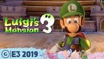 Luigi's Mansion 3 Live Switch Gameplay Demo | E3 2019