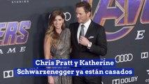Chris Pratt y Katherine Schwarzenegger ya están casados