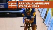 Arrival Alaphilippe - Étape 4 / Stage 4 - Critérium du Dauphiné 2019
