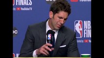 Bob Myers Fought Back Tears While Announcing Kevin Durant's Achilles Injury - NBA Finals