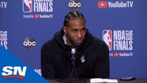 Kawhi Leonard Offers His Perspective On Kevin Durant's Injury And Final Possession