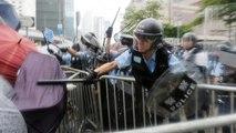 Violents affrontements avec la police à Hong Kong