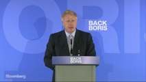 Boris Johnson Says He's Not Aiming for a No-Deal Brexit Outcome