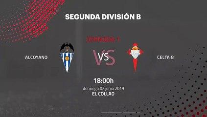 Previa partido entre Alcoyano y Celta B Jornada 1 Segunda B - Play Offs Permanencia