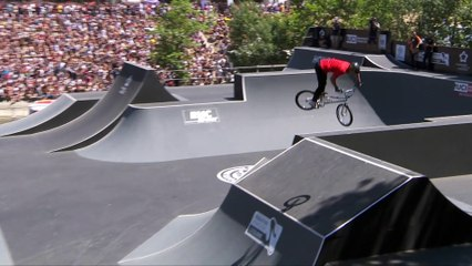 Anthony Jeanjean  UCI BMX Freestyle Park World Cup runs   FISE Montpellier 2019