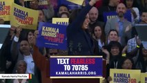 Kamala Harris: DOJ 'Would Have No Coice' But To Prosecute Trump After He Leaves White House