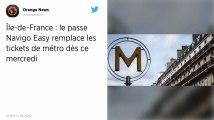 Paris. Les tickets de métro vont disparaître, place au pass Navigo Easy