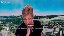 Une présentatrice belge en larmes après la diffusion des retrouvailles des amoureux de 1944