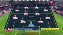 J14 Stade de Reims - EA Guingamp ( 2-1 ) - Résumé - (REIMS - EAG)   2018-19
