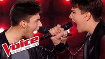 Axel Bauer - Éteins la lumière   Hadrien Collin VS Antoine   The Voice France 2016   Battle