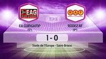 J14   EA Guingamp - Rodez AF (1-0), le résumé