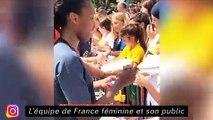 Ikoné met la trique à Malang Sarr sur fifa - L'équipe de France féminine et son public