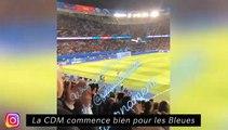 Memphis en pleine récupe en sélection - La CDM commence bien pour les bleues