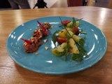 Salade de boeuf tataki