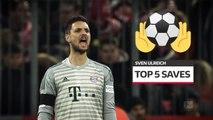 Bundesliga: Top 5 Saves from Sven Ulreich in Bayern Munich
