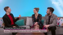 Vanessa Hudgens and Adam Rippon Share Their Favorite Summer Trends: Tie-Dye, Bike Shorts and More!