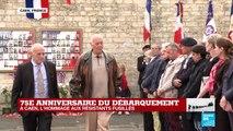 Emission spéciale : 75e anniversaire du débarquement du 6 juin 1944