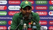 Pakistan's Safaraz Ahmed post defeat to Australia