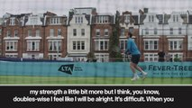 "(Subtitled) ""Pain free"" Murray trains at Queen club ahead of come back"