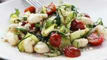 How to Make Gnocchi with Zucchini Ribbons & Parsley Brown Butter