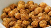 Healthy Snack: Baked Chickpea 'Nuts' Recipe