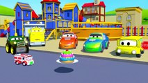 Super Truck et le Camion de Glaces pour l'Anniversaire de Car City | Dessin animé pour les enfants