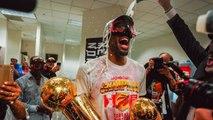 Toronto Raptors Locker Room Celebration - Raptors vs Warriors - 2019 NBA Finals