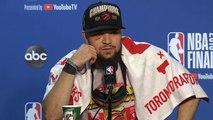 Fred VanVleet Postgame Press Conference - Game 6 - Raptors vs Warriors - 2019 NBA Finals