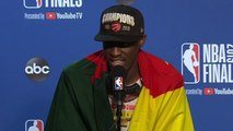 Pascal Siakam Press Conference - Game 6 - Raptors vs Warriors - 2019 NBA Finals