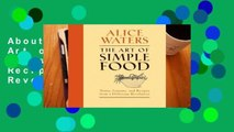 About For Books  The Art of Simple Food: Notes, Lessons, and Recipes from a Delicious Revolution