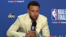 Stephen Curry Postgame Press Conference - Game 6 - Raptors vs Warriors - 2019 NBA Finals