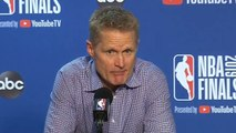 Steve Kerr Postgame Press Conference - Game 6 - Raptors vs Warriors - 2019 NBA Finals