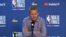 Steve Kerr Postgame Interview - Game 6 - Raptors vs Warriors - 2019 NBA Finals