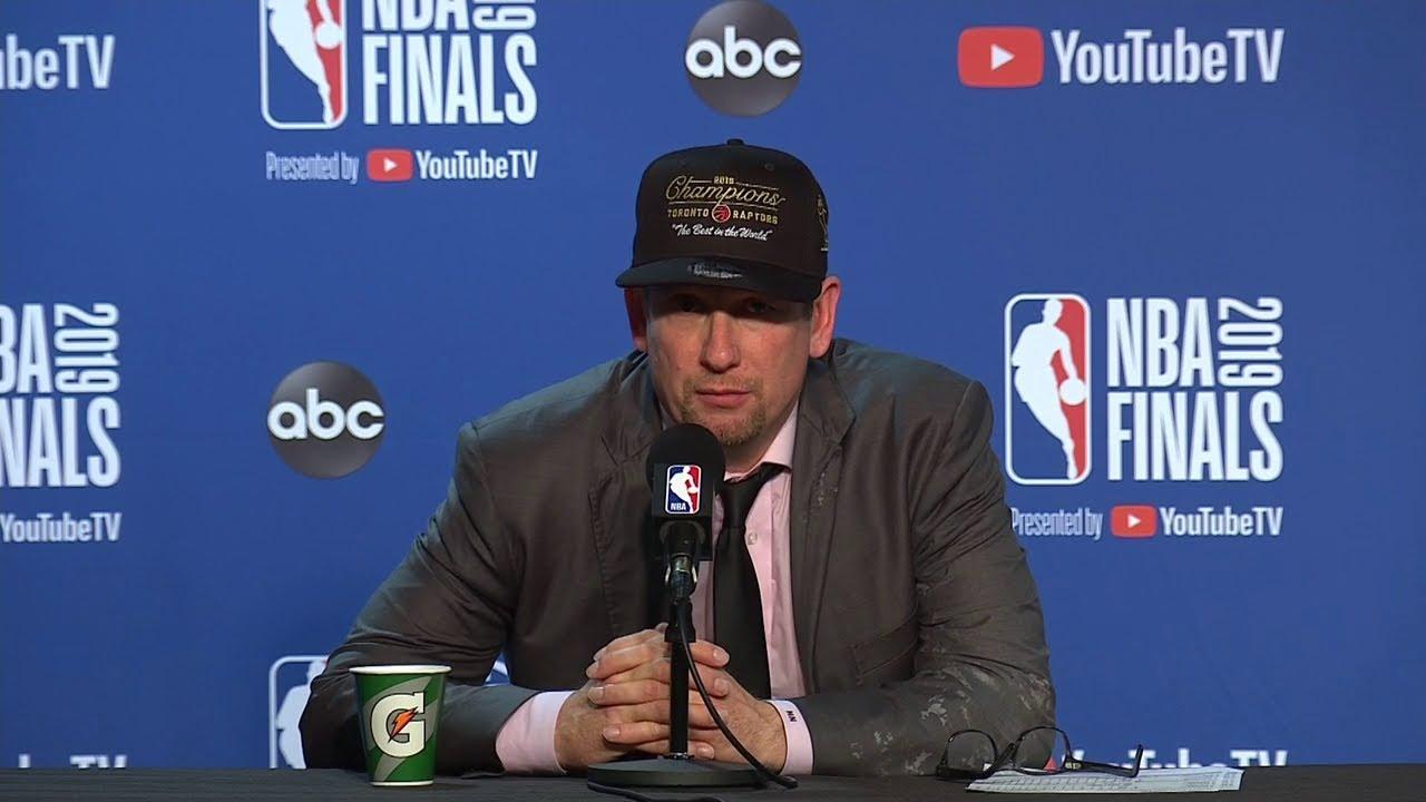 Nick Nurse Postgame Interview – Game 6 – Raptors vs Warriors – 2019 NBA Finals