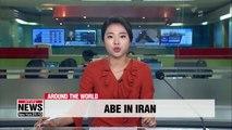 Japanese PM Shinzo Abe on Iran trip amid Tehran-Washington tensions over oil sanctions