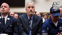 Watch Jon Stewart's entire testimony for 9/11 first responders' health care rights