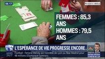 L'espérance de vie progresse encore en France