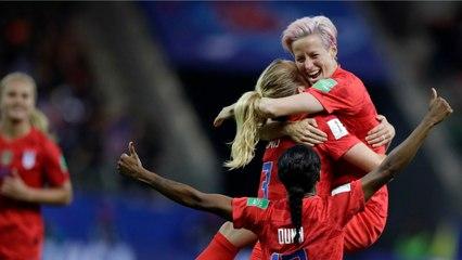 Megan Rapinoe Defends Women's US Soccer Team