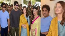 Alia Bhatt, Ranbir Kapoor, Mouni Roy & Nagarjuna promote Brahmastra | Filmibeat