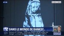 42 fresques murales de Banksy reconstituées dans une exposition à Paris