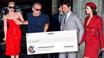 Awkward! Lady Gaga's Ex Christian Just Liked Bradley's Ex Irina Shayk's Photos!
