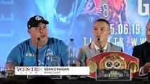 Josh Warrington And Kid Galahad's Press Conference!